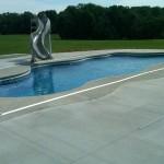 Custom Tile Work Viking Fiberglass Inground Swimming Pools 42