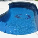 Custom Tile Work Viking Fiberglass Inground Swimming Pools 44