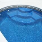 Custom Tile Work Viking Fiberglass Inground Swimming Pools 45