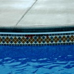 Custom Tile Work Viking Fiberglass Inground Swimming Pools 47