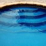 Custom Tile Work Viking Fiberglass Inground Swimming Pools 49