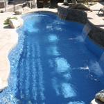 Custom Tile Work Viking Fiberglass Inground Swimming Pools 52