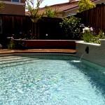 Custom Tile Work Viking Fiberglass Inground Swimming Pools 56