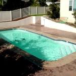 Custom Tile Work Viking Fiberglass Inground Swimming Pools 57
