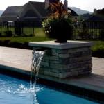Custom Tile Work Viking Fiberglass Inground Swimming Pools 6