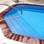 Custom Tile Work Viking Fiberglass Inground Swimming Pools 61