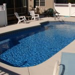 Custom Tile Work Viking Fiberglass Inground Swimming Pools 62