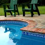 Custom Tile Work Viking Fiberglass Inground Swimming Pools 63