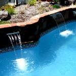 Custom Tile Work Viking Fiberglass Inground Swimming Pools 70