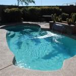 Custom Tile Work Viking Fiberglass Inground Swimming Pools 71