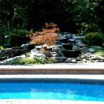 Custom Tile Work Viking Fiberglass Inground Swimming Pools 73