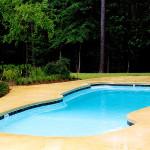 Custom Tile Work Viking Fiberglass Inground Swimming Pools 76