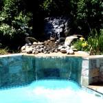 Custom Tile Work Viking Fiberglass Inground Swimming Pools 77