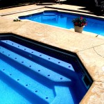Custom Tile Work Viking Fiberglass Inground Swimming Pools 79
