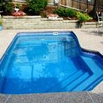 Custom Tile Work Viking Fiberglass Inground Swimming Pools 8