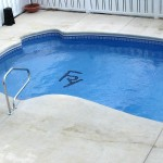 Custom Tile Work Viking Fiberglass Inground Swimming Pools 82