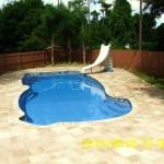 Custom Tile Work Viking Fiberglass Inground Swimming Pools 84
