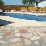 Custom Tile Work Viking Fiberglass Inground Swimming Pools 87