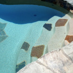 Custom Tile Work Viking Fiberglass Inground Swimming Pools 95