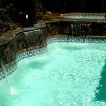 Custom Tile Work Viking Fiberglass Inground Swimming Pools 96