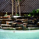 Custom Tile Work Viking Fiberglass Inground Swimming Pools 99