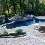 Fiberglass Swimming Pool Paint Color Finish Azure 3