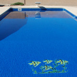 Fiberglass Swimming Pool Paint Color Finish Azure 4