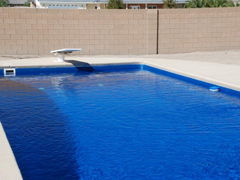Fiberglass Swimming Pool Paint Color Finish Azure 6 - Calm ...