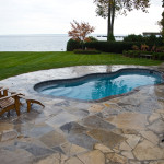 Fiberglass Swimming Pool Paint Color Finish Granite 5