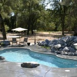 Fiberglass Swimming Pool Paint Color Finish Granite 7
