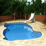 Fiberglass Swimming Pool Paint Color Finish Pacific Blue 11