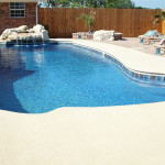 Fiberglass Swimming Pool Paint Color Finish Pacific Blue 12