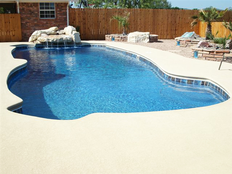 Fiberglass Swimming Pool Paint Color Finish Pacific Blue 12 Calm Water Pools