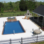 Fiberglass Swimming Pool Paint Color Finish Pacific Blue 14