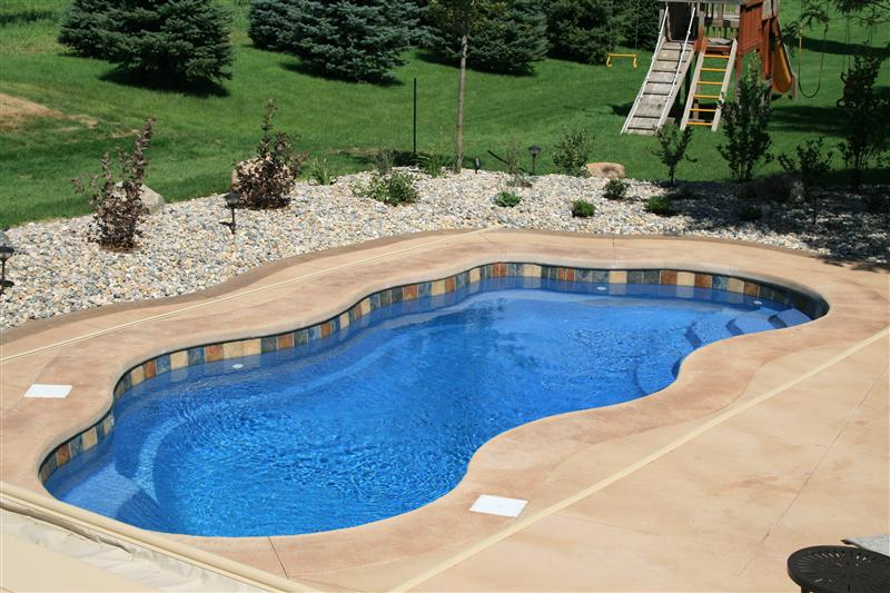Fiberglass swimming pool paint color finish pacific blue 2 for Pacific pools