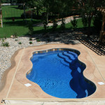 Fiberglass Swimming Pool Paint Color Finish Pacific Blue 3