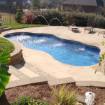 Fiberglass Swimming Pool Paint Color Finish Pacific Blue 5