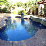 Fiberglass Swimming Pool Paint Color Finish Pacific Blue 6