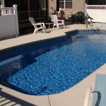 Fiberglass Swimming Pool Paint Color Finish Pacific Blue 9