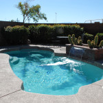 Fiberglass Swimming Pool Paint Color Finish Pebble Beach 11