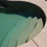 Fiberglass Swimming Pool Paint Color Finish Pebble Beach 13