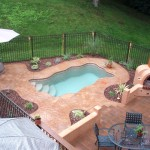 Fiberglass Swimming Pool Paint Color Finish Pebble Beach 2