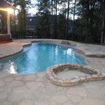 Fiberglass Swimming Pool Paint Color Finish Pebble Beach 5