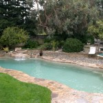 Fiberglass Swimming Pool Paint Color Finish Pebble Beach 8