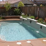 Fiberglass Swimming Pool Paint Color Finish Pebble Beach 9
