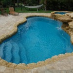 Fiberglass Swimming Pool Paint Color Finish Sapphire Blue 14