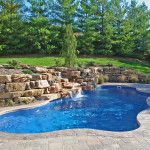 Fiberglass Swimming Pool Paint Color Finish Sapphire Blue 15