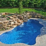 Fiberglass Swimming Pool Paint Color Finish Sapphire Blue 16