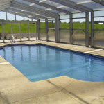 Fiberglass Swimming Pool Paint Color Finish Sapphire Blue 2
