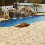 Fiberglass Swimming Pool Paint Color Finish Sapphire Blue 20
